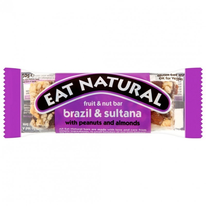 Eat Natural Organic Brasil Sultana Fruit Nut Bar